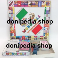 Jual Mainan Monopoli Internasional + Ular Tangga ~ Set Permainan Monopoly Murah