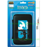 HORI Pokemon (Pocket Monster) Hard Pouch for New 3DS XL (Lunala/Moon)