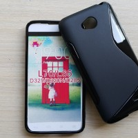Silikon Case + screenguard LG L70 / casing soft back softcase backcase