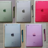 Transparan Silikon Case + stylus Apple Ipad Mini 1 2 3 / casing soft