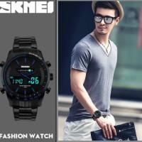 Jual jam tangan skmei casio dual time Murah