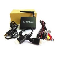 Car Wireless Miracast / Airplay / DLNA Display Share 2.4GHz Black
