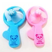 Kipas Angin Mini Portable Tanpa Baterai Gambar Panda