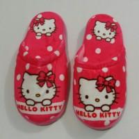harga Sandal Rumah Kamar Tidur Dewasa Karakter Hello Kitty Tokopedia.com