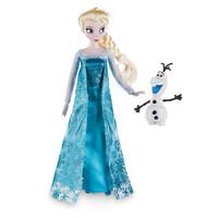 Elsa Classic Disney Store Doll with Olaf Figure