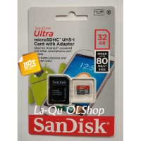 Memory Memori Card MicroSD Micro SD Sandisk Ultra Class 10 32GB, 32 GB