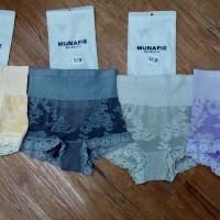 harga munafie motif bunga slimming pant / celana dalam munafie / cd / korset Tokopedia.com
