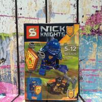 Jual Lego Clay plus Jestro Volcano Lair (set of 2) Nexo Knights SY Bootleg Murah
