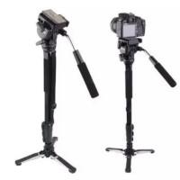 Yunteng 288 fotografi monopod + hidrolik SLR kamera monopod Film