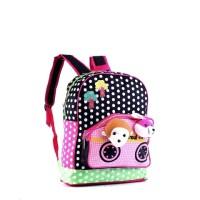 tas anak perempuan / tas boneka anak wanita gendong / tas sekolah GF
