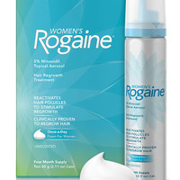Rogaine Foam penumbuh rambut wanita #1 USA - 1botol