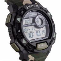 Timex 45mm Expedition Base Shock Resistant Watch - Camo - 100% O