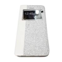 Diamond Case Flip Cover Flipshel Swarosky Bling Oppo Yoyo R2001