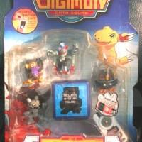 Mini Figure Digimon Set Savers 01A Original Bandai
