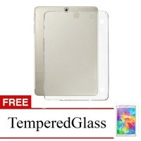 Case For Samsung Galaxy Tab 3v / T110 - Clear + Gratis Tempered Glass