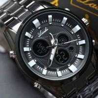 jam tangan laki laki rantai asli bergaransi anti air formal mirage