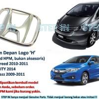 Logo Emblem H Depan Standard Honda Freed 2010, City 2014, Jazz 2009+