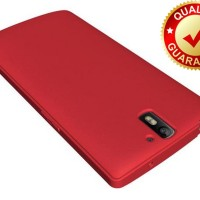 CASING HP OPO DIZTRONIC ONEPLUS ONE MATTE CASE - RED ORIGINAL M.K