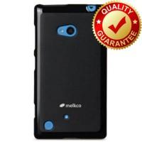 MELKCO Case Poly Jacket Nokia Lumia 720 - Black M.K