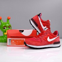 SEPATU ANAK Nike INTERNATIONALIST LEATHER Red