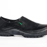 harga GROSIR sepatu pria slop casual slipon praktis main kerja kickers kulit Tokopedia.com
