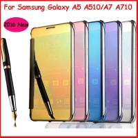 Flip Mirror case Samsung Galaxy A7 2016