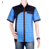 Kemeja Batik Kombinasi Faisal