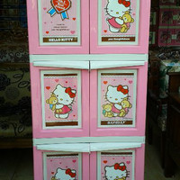 harga Lemari Plastik Napolly Hello kitty BCBC-163HKBF Tokopedia.com