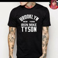 T-SHIRT BROOKLYN NEW YORK IRON MIKE TYSON High Quality
