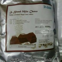 Bahan Es Blend Mix Chocolate