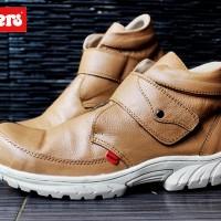 harga Sepatu Casual Pria Kickers Prepet Tan Leather Tokopedia.com