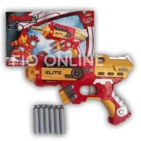 harga Nerf Gun Soft Bullet Blaster Ironman / Senjata Ironman / Avenger Tokopedia.com