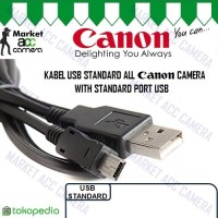 USB Cable White 5 Pin Canon