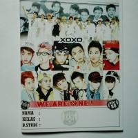Buku Tulis Exo Kpop