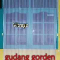 Vitrage Polos Dalaman Transparan Gorden / Puring Gorden