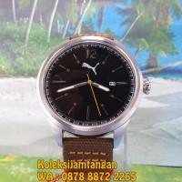 JAM TANGAN PRIA PUMA PU104001002 LEGACY SILVER BLACK ORANGE ORIGINAL