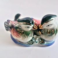 Fenghui Sepasang Mini Bebek Mandarin Yen Yang 2|Cinta Sepasang Kekasih