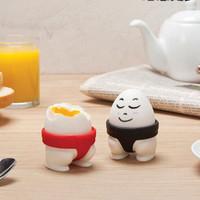 sumo eggs tray / tempat telur bentuk SUMO / 2pc egg holder - HKN163