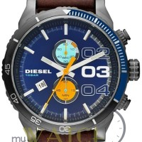Jam Tangan Pria Diesel DZ4350 Original Kulit / Leather Strap