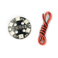 LED Light Board 7 Colors Switch Round RC DIY Quadcopter Multicopter