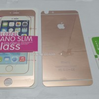 Tempered Glass Mirror Iphone 6 Plus / 6s Plus Warna Rose Gold