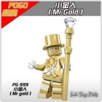Lego Pogo 999 Minifigure Mr Gold