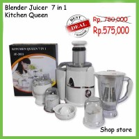 POWER JUICER KITCHEN QUEEN 7 IN 1 (Blender dan juicer )