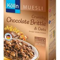 Kolln Muesli Crunchy Chocolate Brittle & Oats Cereal Sereal Cokelat