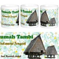 Mug Rumah Adat Tambi, Sulawesi Tengah