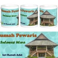Mug Rumah Adat Tongkonan, Sulawesi Utara