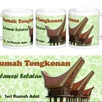 Mug Rumah adat Tongkonan, Sulawesi Selatan
