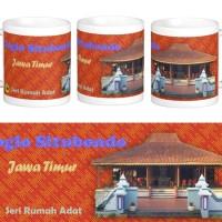 Mug Rumah Adat Joglo, Jawa Timur