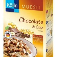 Kolln Muesli Chocolate & Oats Cereal Sereal Cokelat Import