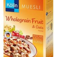 Kolln Muesli Wholegrain Fruit & Oats Cereal Sereal Sehat Import